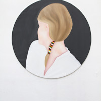 Untitled, 2011Oil on canvas, 150 x 150 cm (privat collection)