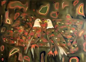 Adler, 2017 Oil on Canvas, 130 x 180 cm