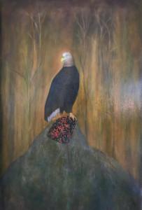 Adler, 2017Oil on Canvas, 120 x 75 cm