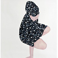 Untitled, 2013Oil on Paper, 140 x 120 cm