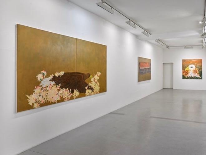 Sultan Adler- das Blaue Auge- Michael Schultz Gallery Berlin-