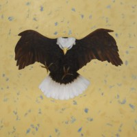 der Lüfte II, 192 x 152 cm, oil on canvas, 2019 )