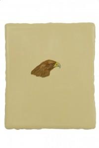 Adlerkopf, 38 x 32 cm, oil on canvas   (Neumann-Hug Collection)