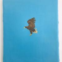 o.T. 76 x 65 cm, oil on canvas  (Neumann-Hug Collection)