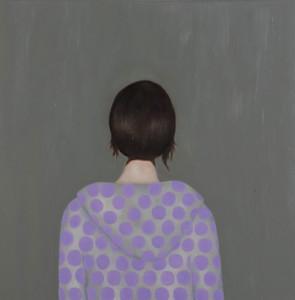 Ohne Titel, 2008Öl auf Leinwand, 80 x 80 cm (privat collection)
