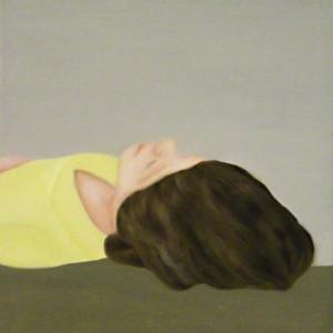 Ohne Titel, 2010Öl auf Leinwand, 30 x 30 cm ( collection Die  Grünen 90)