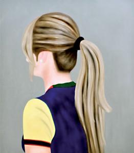 Ohne Titel, 2009Öl auf Leinwand, 140 x 120 cm