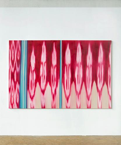 Ohne Titel, 2011Öl auf Leinwand, 160 x 240 cm