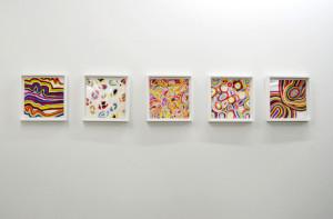Ohne Titel, 2012Öl auf Aluminium, 20 x 20 cm