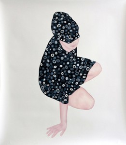 Untitled, 2013Öl auf Papier, 160 x 140 cm