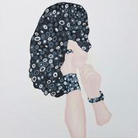 Untitled 2012Öl auf Papier, 140 x 120 cm