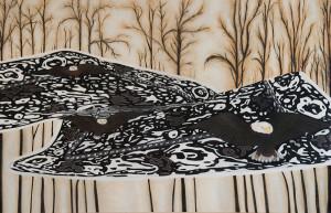 Adler-teppich, 2016Oil on Canvas, 130 x 180 cm