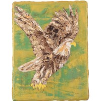 Eagl in the Gold Field II,40 x 30 cm, oil on canvas