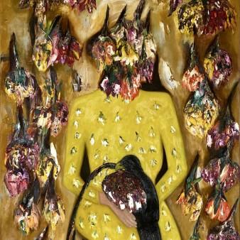 Anatolian Bride I, 100 x 80 cm, oil on canvas
