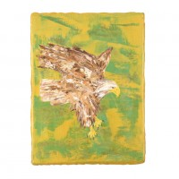 Eagl in the Gold Field III, 40 x 30 cm, oil on canvas