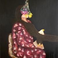 Anatolian Bride II, 100 x 80 cm, oil on canvas