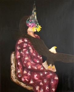 Anatolian Bride II, 100 x 80 cm, oil on canvas